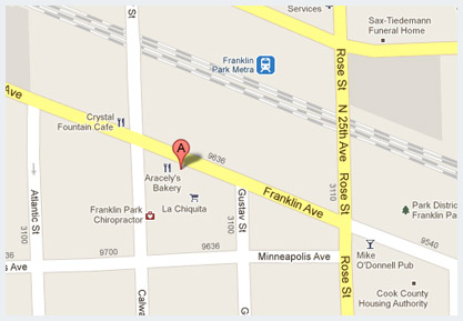 Contact Us Map Franklin